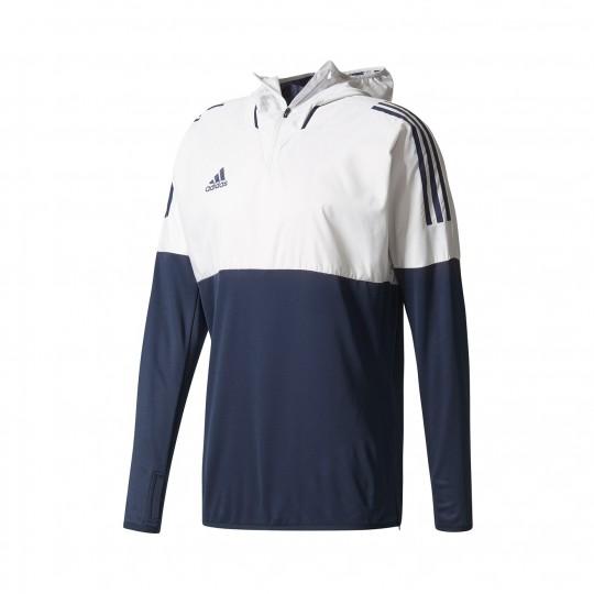 Casaco  adidas TANF HYB TOP Capucha Grey-Black