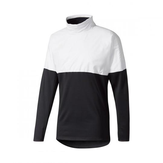 Sweatshirt  adidas Tanf Hybtop Grey-Black