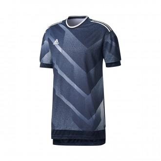 Camiseta  adidas Tango Future Grey-Black