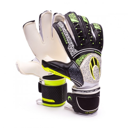 Luvas  HO Soccer Ikarus Roll-Flat Aquaformula White-Black
