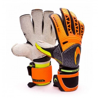 Guante  HO Soccer Ikarus Roll-Gecko Extreme Negro-Naranja