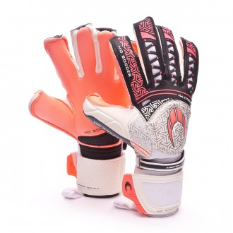 Guante  HO Soccer Ikarus Roll-Negative WARNING SUPRA GRIP Warning-Black-White
