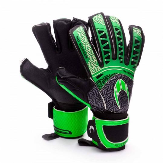 Luvas  HO Soccer SSG Ikarus Roll-Negative Turf Verde-Preto