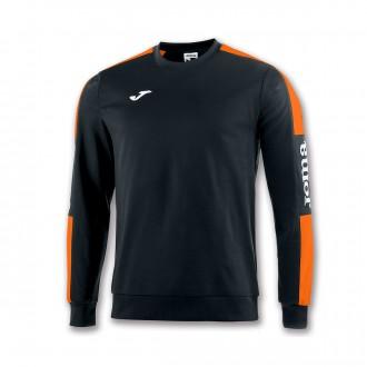 Sweatshirt Joma Champion IV Preto-Laranja