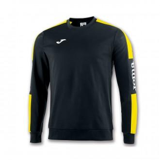 Sweatshirt Joma Champion IV Preto-Amarelo