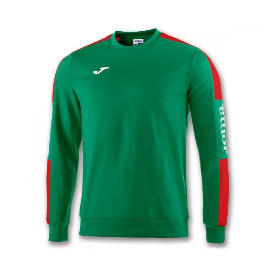 Sudadera  Joma Champion IV Verde-Rojo