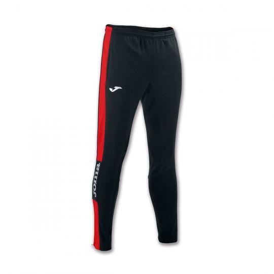 Pantalon  Joma Champion IV Pitillo Noir-Rouge