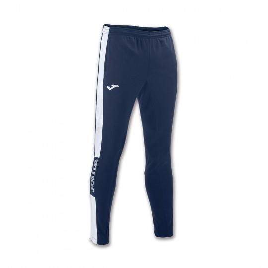 Pantalon  Joma Champion IV Pitillo Bleu marine-Blanc