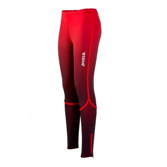 Tights  Joma Woman Elite V Red-Black