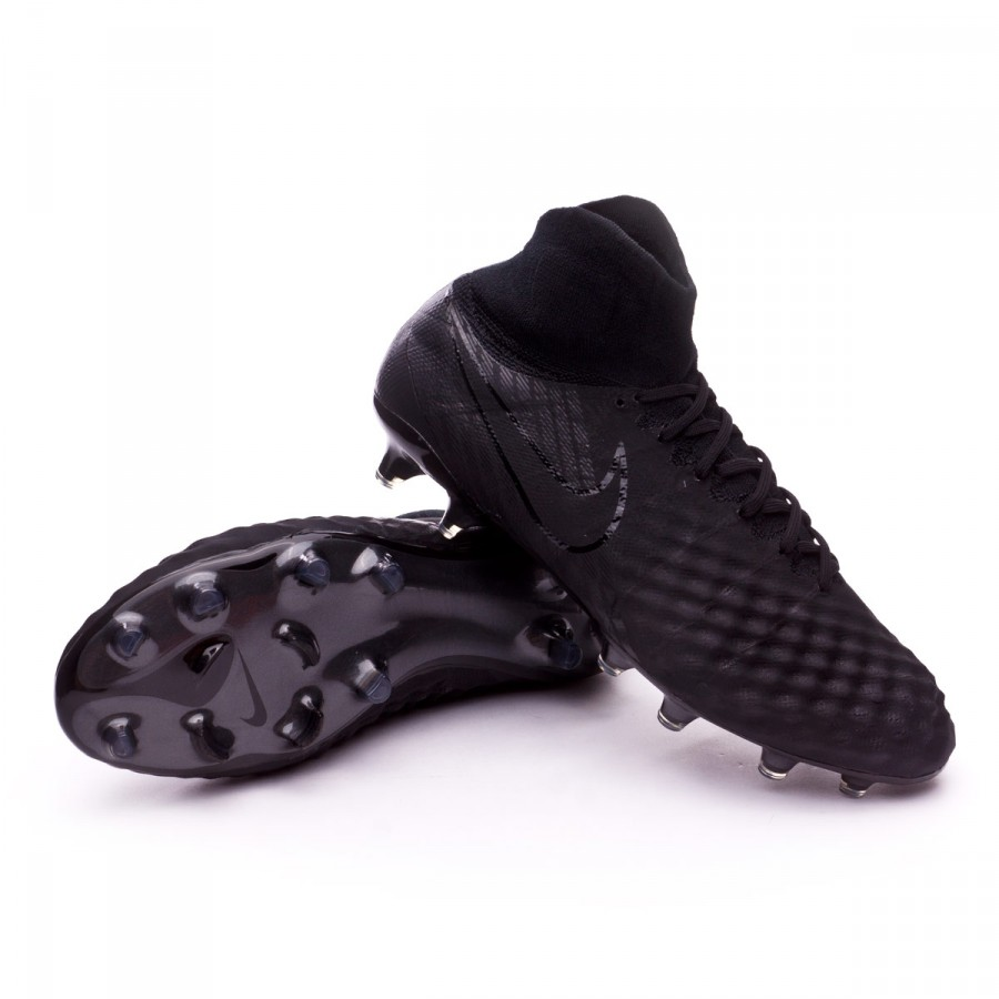 Scarpe Nike Magista Obra II ACC FG Black Negozio di calcio  dCXqZU