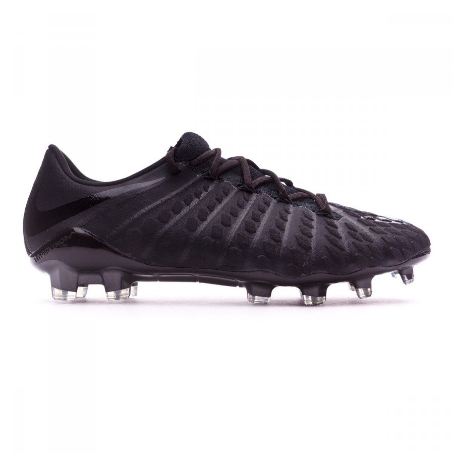 51608cfad Football Boots Nike Hypervenom Phantom III ACC FG Black - Tienda de fútbol  Fútbol Emotion
