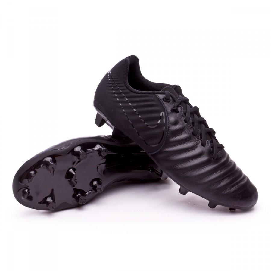 Scarpe Nike Tiempo Ligera IV FG Black - Negozio di calcio Fútbol Emotion d353fcad8f0