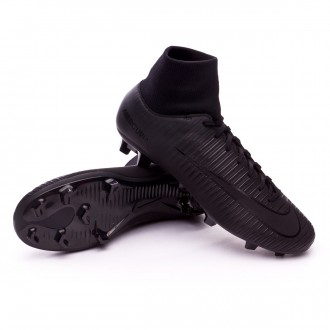 Chuteira  Nike Mercurial Victory VI DF FG Black