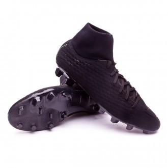 Chuteira  Nike Hypervenom Phelon III DF FG Black