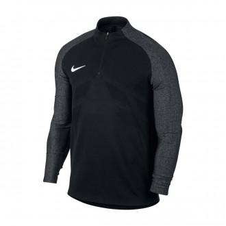Sweatshirt  Nike Aeroswift Strike Football Drill Top Black-White