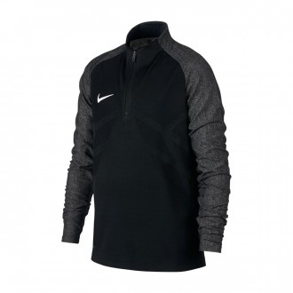 Camisola  Nike Jr Aeroswift Strike Football Drill Top Black-White