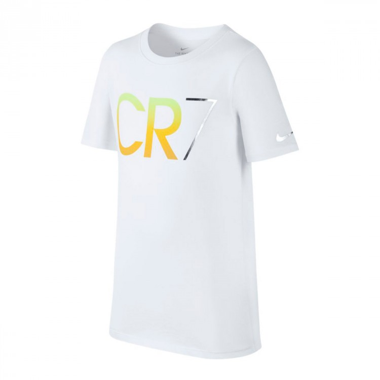 finest selection 25ed1 70cc4 Camiseta CR7 Niño White