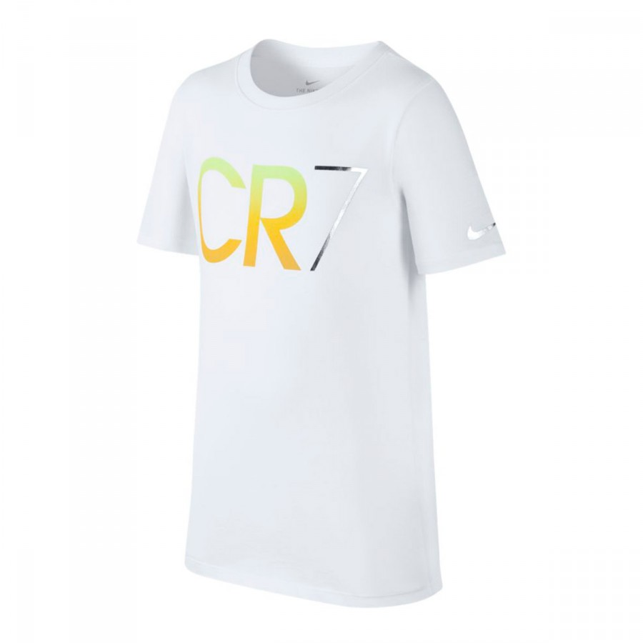 a52c960f325eb Playera Nike CR7 Niño White - Tienda de fútbol Fútbol Emotion