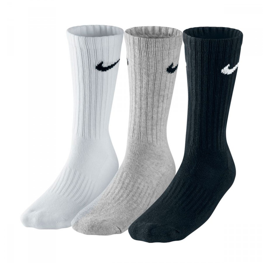 Calcetines Nike Cushion Crew Training (3 pares) Multicolor ...
