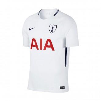Camiseta  Nike Tottenham Stadium SS Primera Equipación 2017-2018 White-Binary blue