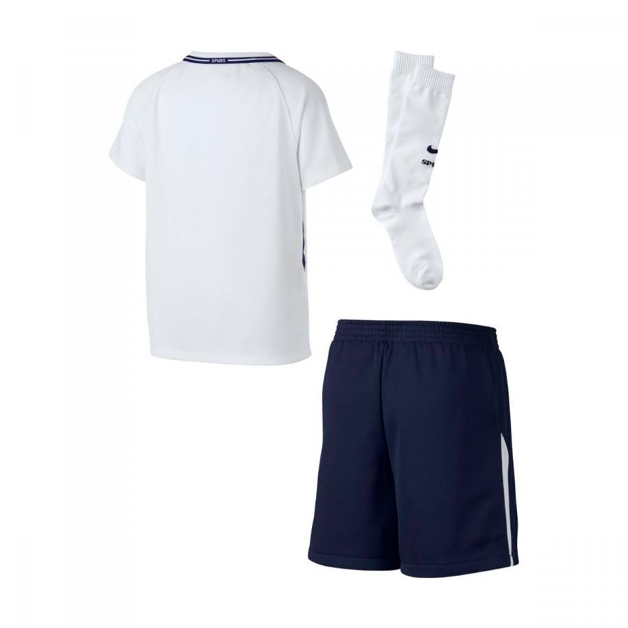 dee676827 Kit Nike Tottenham Home 2017-2018 White-Binary blue - Football store ...