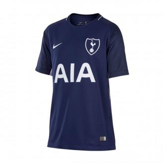 Camiseta  Nike Tottenham Stadium SS Segunda Equipación 2017-2018 Niño Binary blue-White