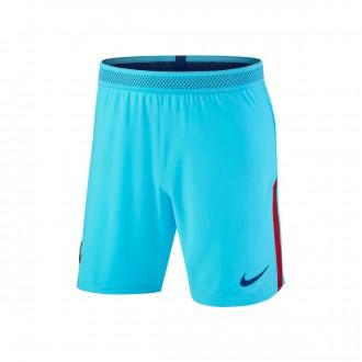 Pantalón corto  Nike FC Barcelona Vapor Match Segunda Equipación 2017-2018 Polarized blue-Deep royal blue