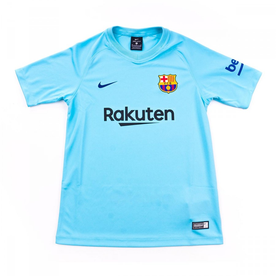 fed01f6322f Nike Kids FC Barcelona SS Away 2017-2018 Jersey. Polarized blue-Deep royal  ...