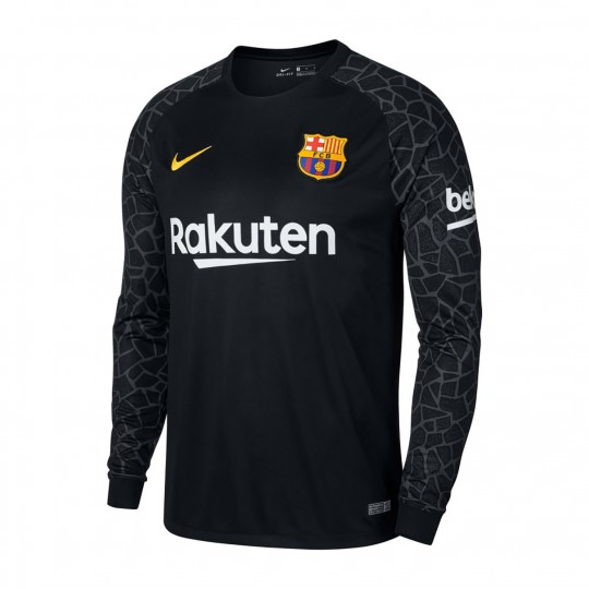 Camiseta  Nike FC Barcelona Stadium LS 2017-2018 Portero Black-Anthracite-University gold