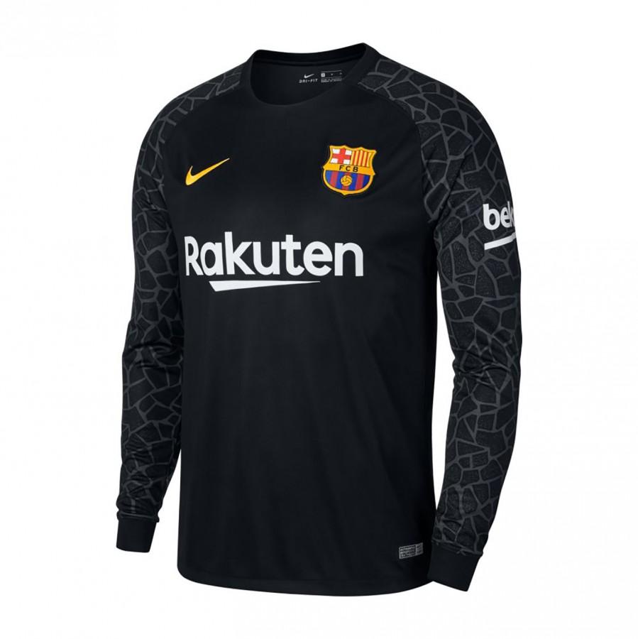 Jersey Nike FC Barcelona Stadium 2017-2018 Goalkeeper Away Kit Black-Anthracite-University  gold - Soloporteros es ahora Fútbol Emotion a45293a18a9