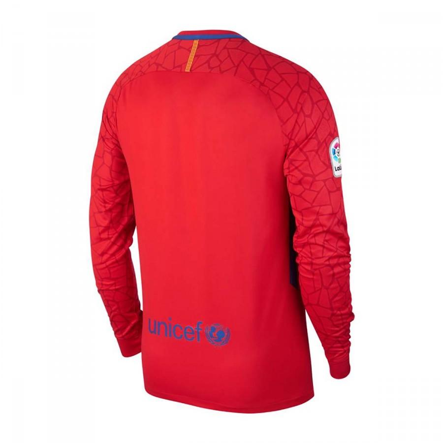 4fb784584122e Camiseta Nike FC Barcelona Stadium LS Portero 2017-2018 University red-Gym  red-Deep royal blue - Tienda de fútbol Fútbol Emotion