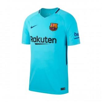 Camiseta Nike FC Barcelona Stadium SS Segunda Equipación 2017-2018  Polarized blue-Deep royal e6337459983
