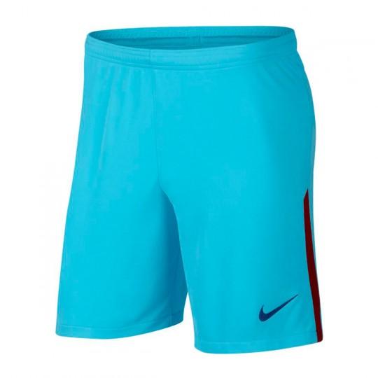 Pantalón corto  Nike FC Barcelona Stadium Segunda Equipación 2017-2018 Polarized blue-Deep royal blue