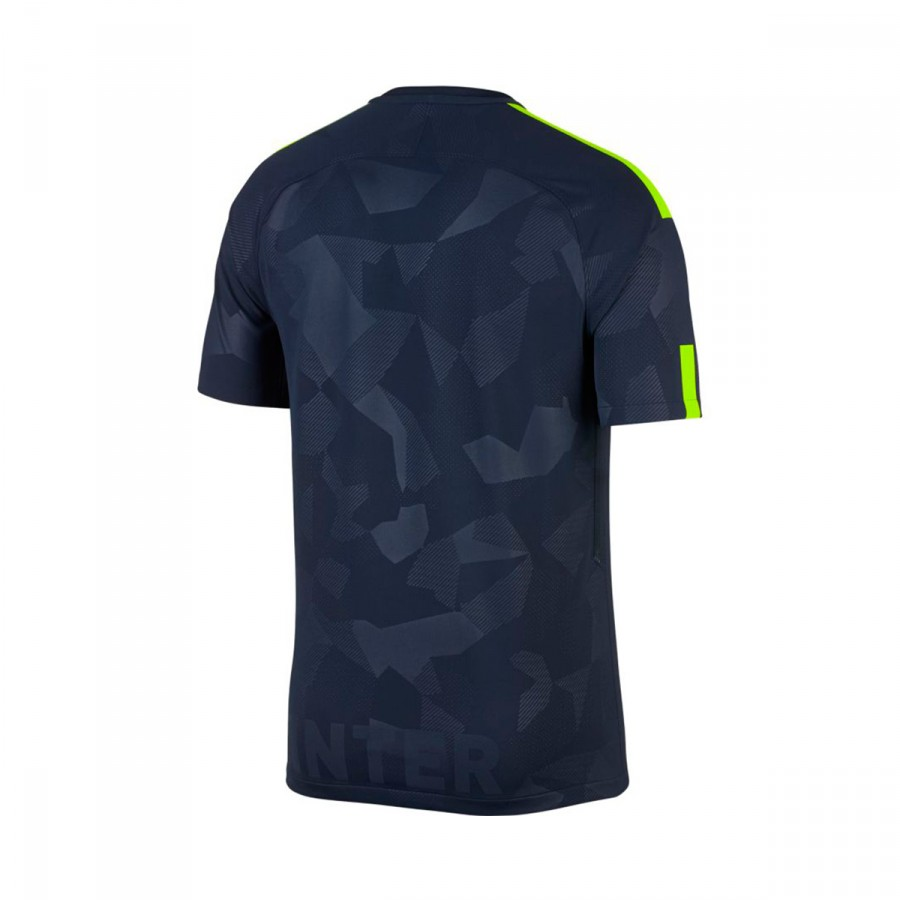best service 90404 af1e1 Camiseta Inter Milán Stadium SS Tercera Equipación 2017-2018 Thunder  blue-Volt