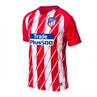 Camiseta  Nike Atlético de Madrid Stadium SS Primera Equipación 2017-2018 Sport red-White-Deep royal blue