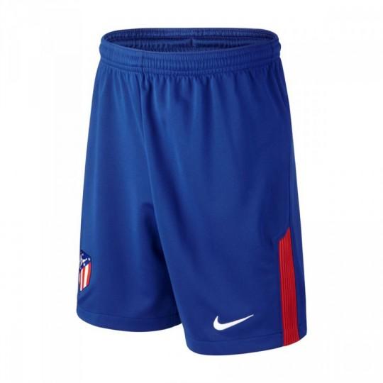 Pantalón corto  Nike Atlético de Madrid Stadium Primera Equipación 2017-2018 Deep royal blue-Sport blue-Sport red-White
