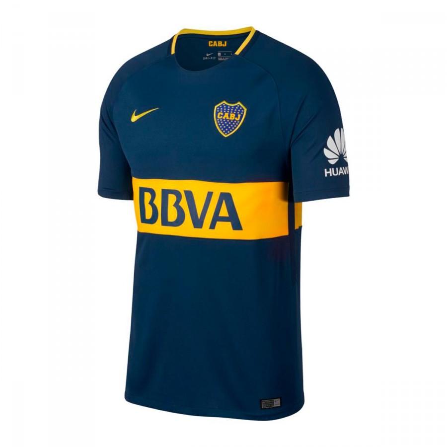11f0c421b8760 Camiseta Nike Boca Juniors Stadium SS Primera Equipación 2017-2018 Brave  blue-Tour yellow - Tienda de fútbol Fútbol Emotion