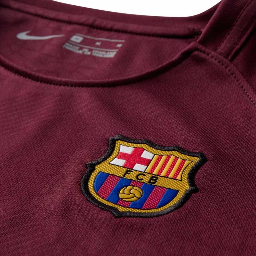 6252f57f6f3 Kit Nike Kids FC Barcelona 3rd 2017-2018 Night maroon-Hyper crimson -  Football store Fútbol Emotion