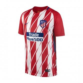 Camiseta  Nike Atlético de Madrid Stadium SS Primera Equipación 2017-2018 Niño Sport red-White-Deep royal blue
