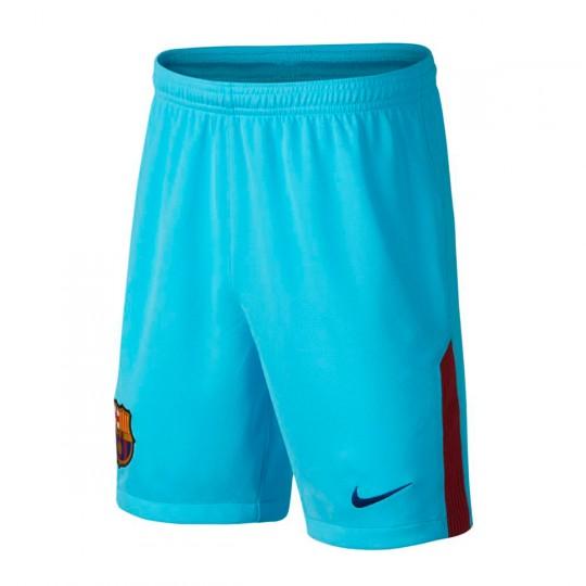Pantalón corto  Nike FC Barcelona Stadium Segunda Equipación 2017-2018 Niño Polarized blue-Deep royal blue