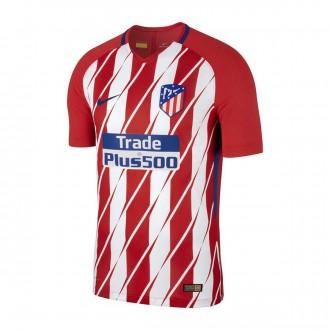 Camiseta  Nike Atlético de Madrid Vapor Match SS Primera Equipación 2017-2018 Sport red-White-Deep royal blue