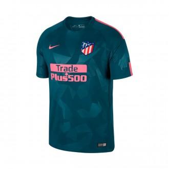 Camiseta  Nike Atlético de Madrid Stadium SS Tercera Equipación 2017-2018 Space blue-Laser pink