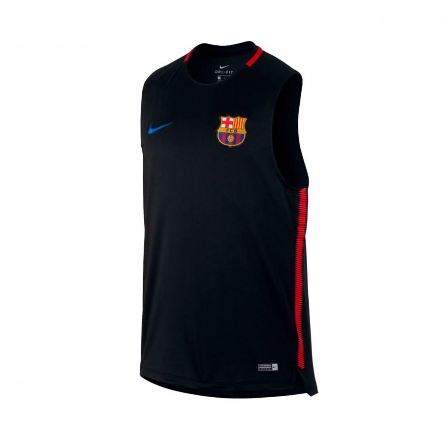 Jersey Nike FC Barcelona Squad SL 2017-2018 Black-University red ... 907b11212