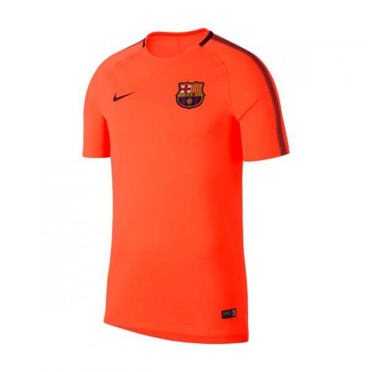 Camiseta  Nike FC Barcelona Squad SS 2017-2018 Hyper crimson-Night maroon