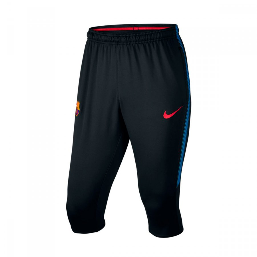 4722df25f6feb Capri pants Nike FC Barcelona Dry Squad 3 4 2017-2018 Black-Soar ...