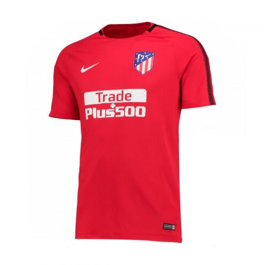 Camiseta  Nike Atlético de Madrid Dry SS Squad 2017-2018 Sport red-Black-White