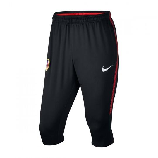 Calças Pirata  Nike Atlético de Madrid Dry Squad 3/4 2017-2018 Black-Sport red-White