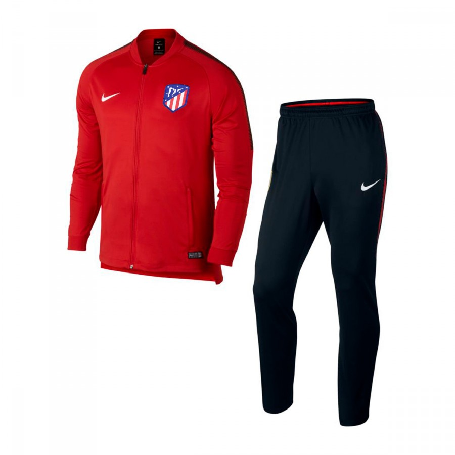ch ndal nike atl tico de madrid dry squad 2017 2018 sport red black white soloporteros es. Black Bedroom Furniture Sets. Home Design Ideas