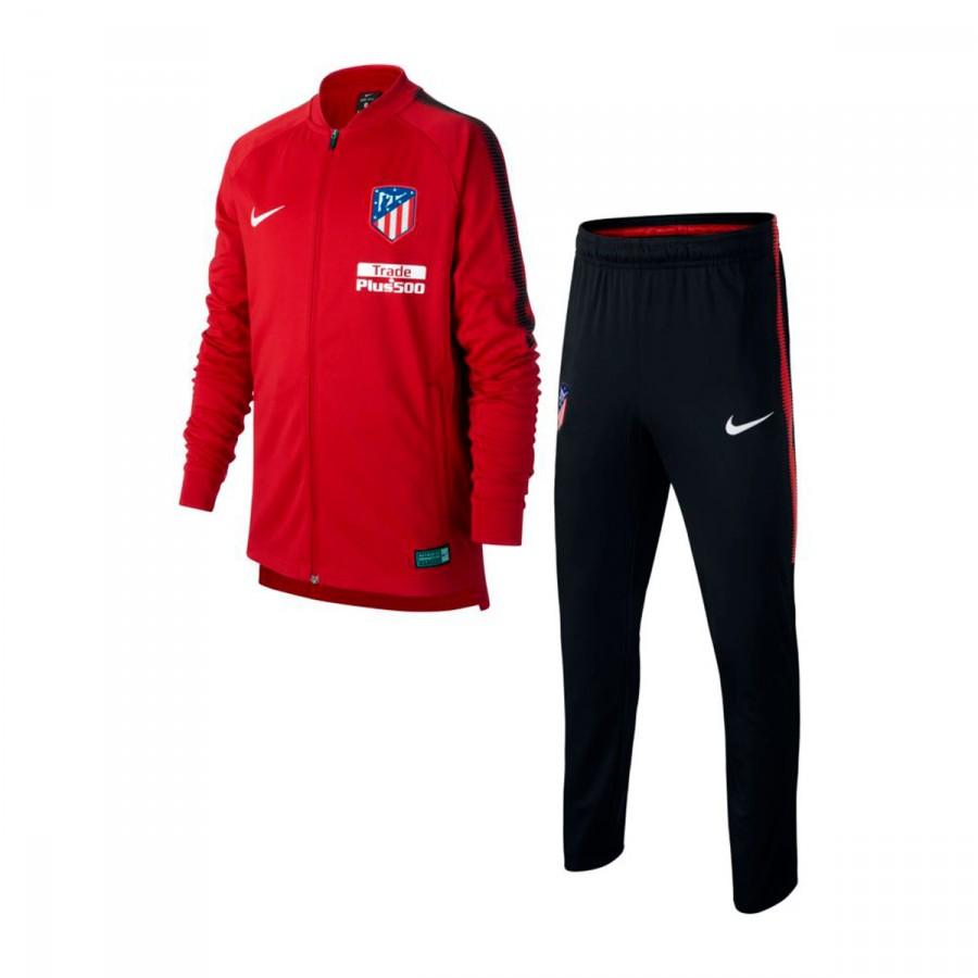 15b149226a48c Chándal Nike Atlético de Madrid Dry Squad 2017-2018 Niño Sport  red-Black-White - Tienda de fútbol Fútbol Emotion