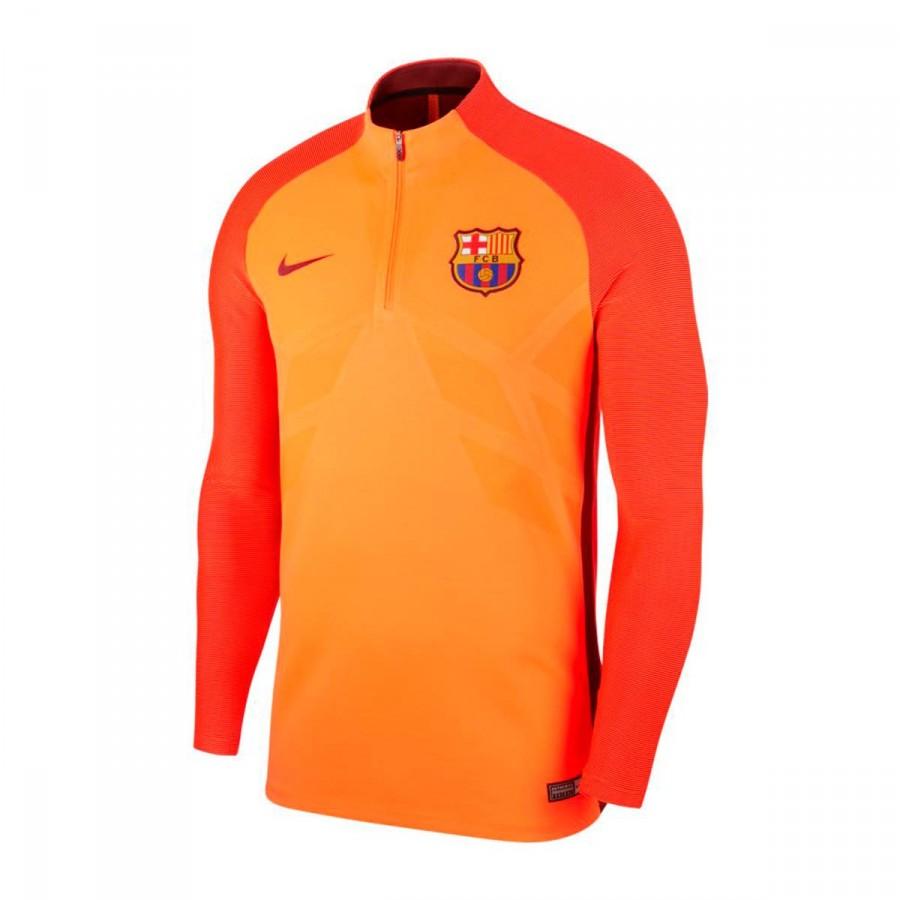 Sweatshirt Nike FC Barcelona Aeroswift Dry Strike Dril Top 2017-2018 ... b1cfb45f8c3